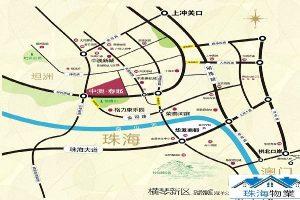 中澳春城Map